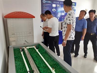 安徽客户来访公司进行实地参观考察